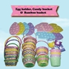 Candy Bucket Bamboo Basket